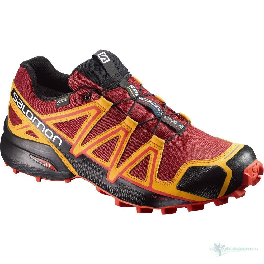 Кроссовки SALOMON Speedcross 4 GTX Red Dal 398456